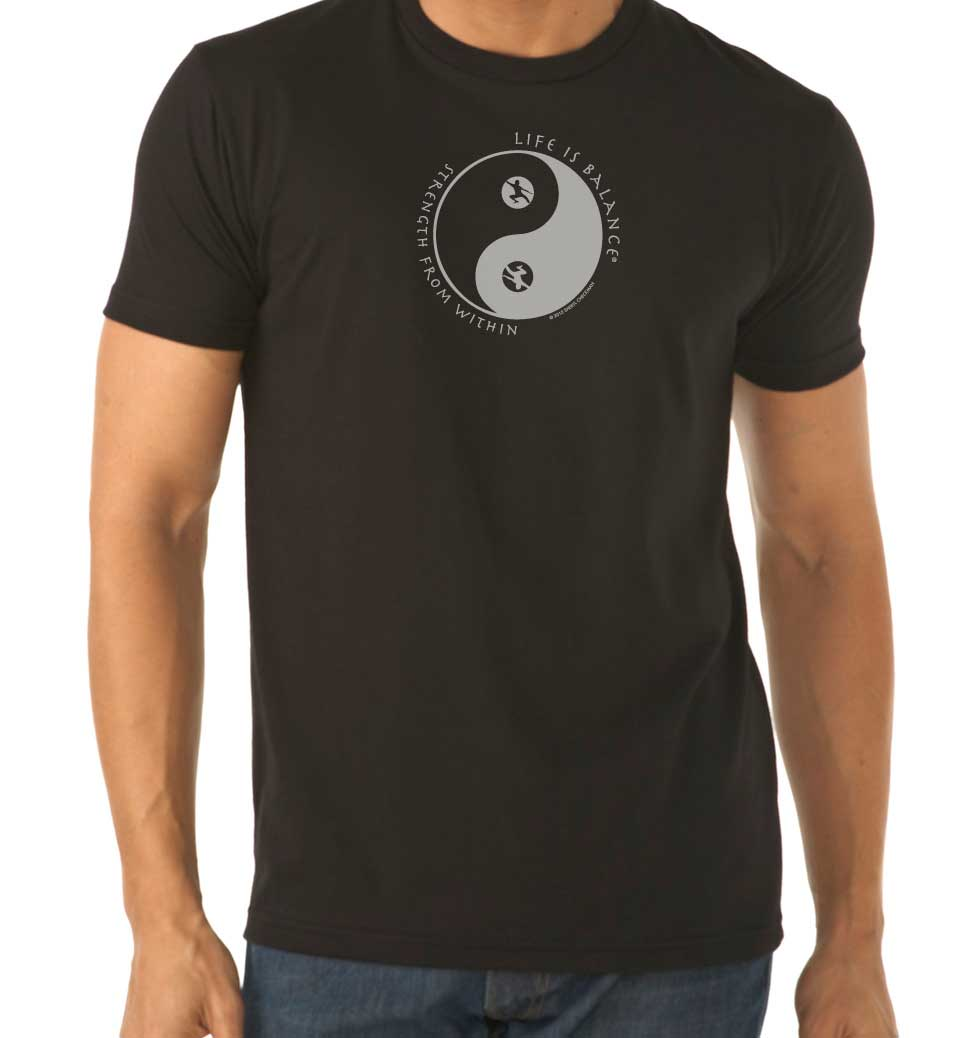 Strength from Within Men's/Unisex T-shirt (Black/White)