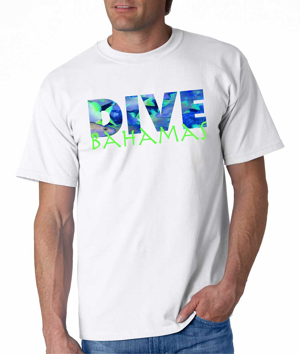 Men's short sleeve Dive Bahamas