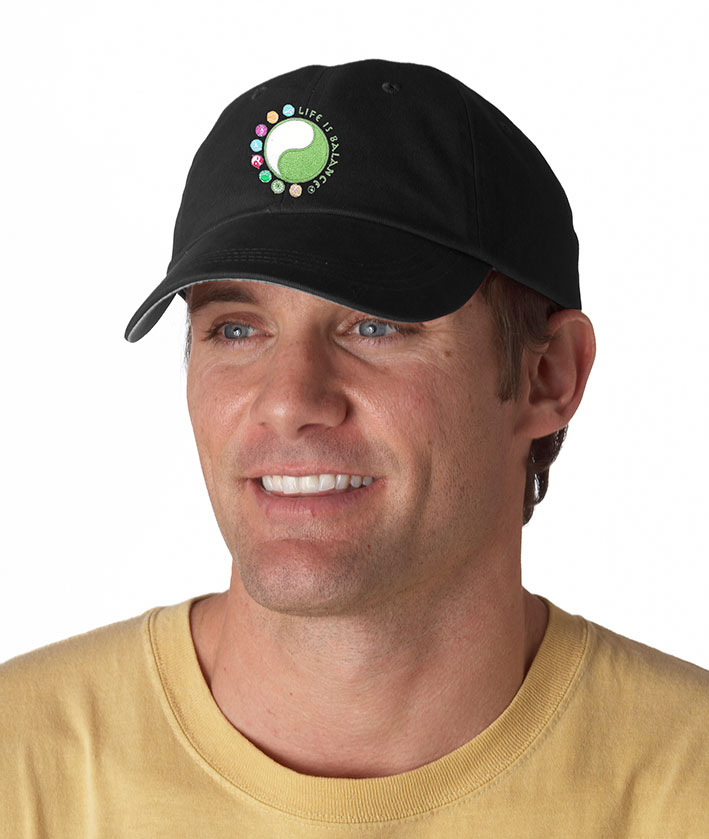 I do it all Life is Balance® Logo Cap