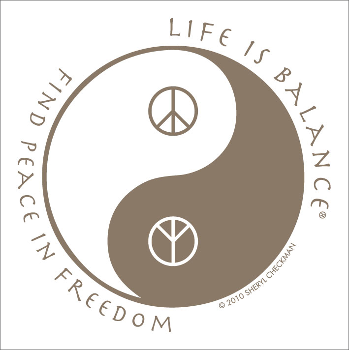 inspirational peace symbol t-shirts for men and women